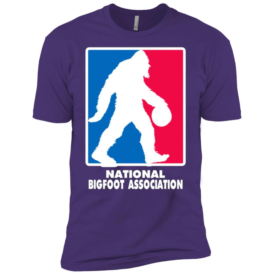 National Bigfoot Association Basketball logo Men Short Sleeve T-Shirt