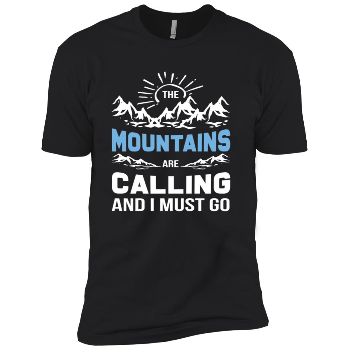 Moutain Hiking Funny Camping Men Short Sleeve T-Shirt