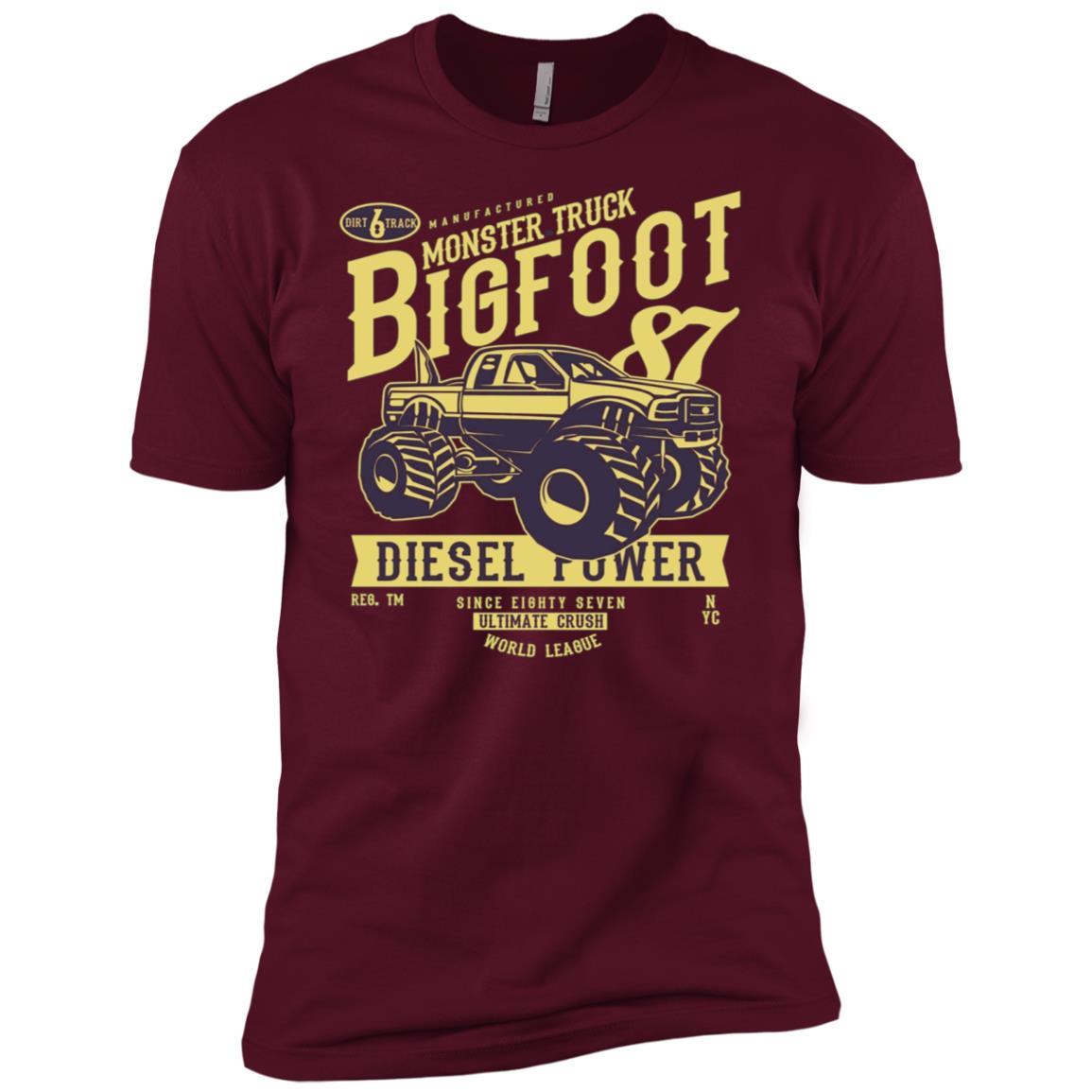 Monster Truck – Bigfoot Men Short Sleeve T-Shirt