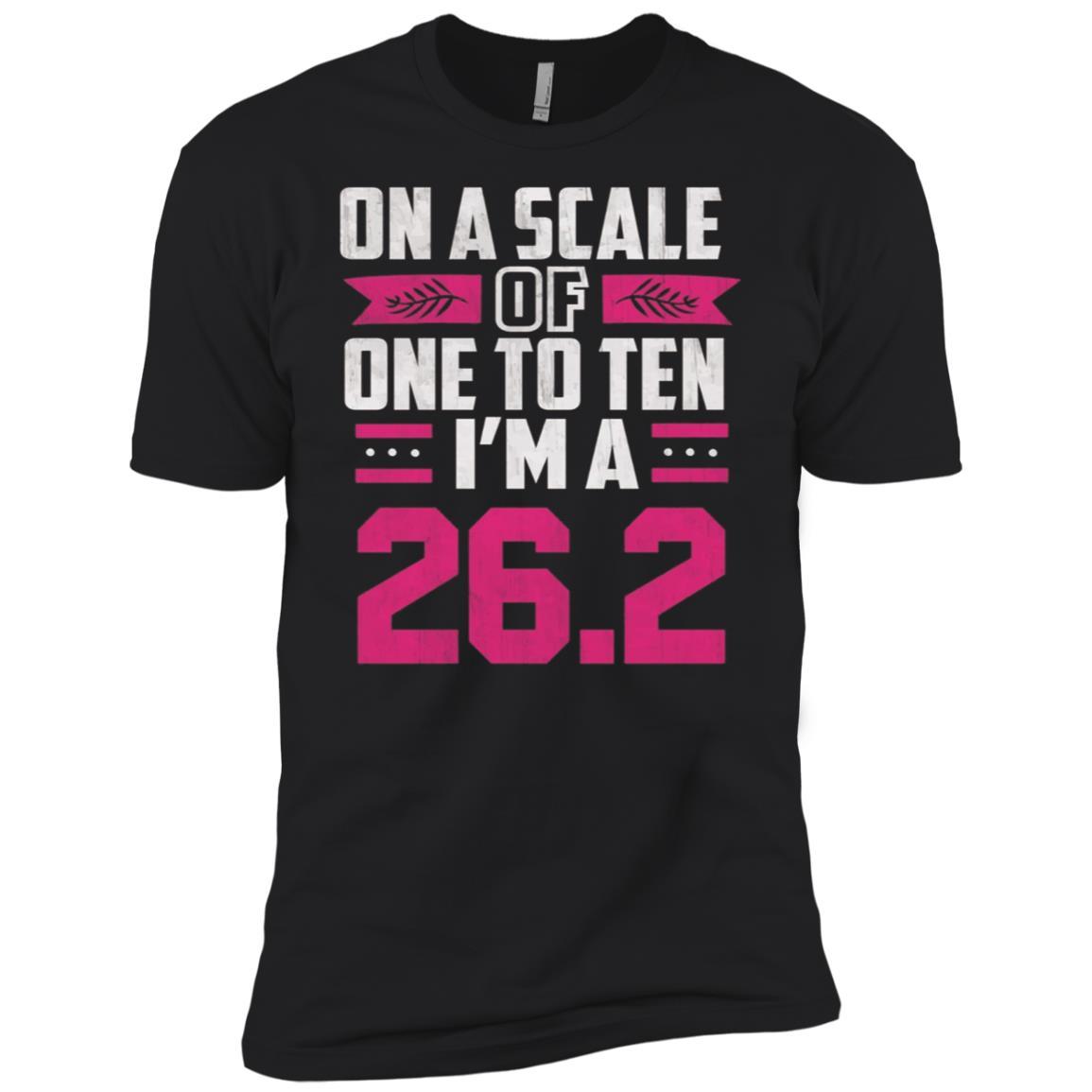 26.2 Marathon Runner I'm a 26.2 Gifts Tee Men Short Sleeve T-Shirt