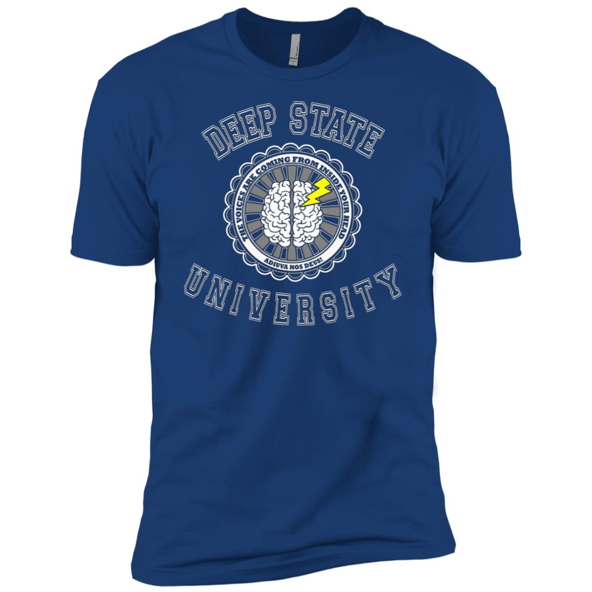 Deep State University Political Resistance Winter Men Short Sleeve T-Shirt