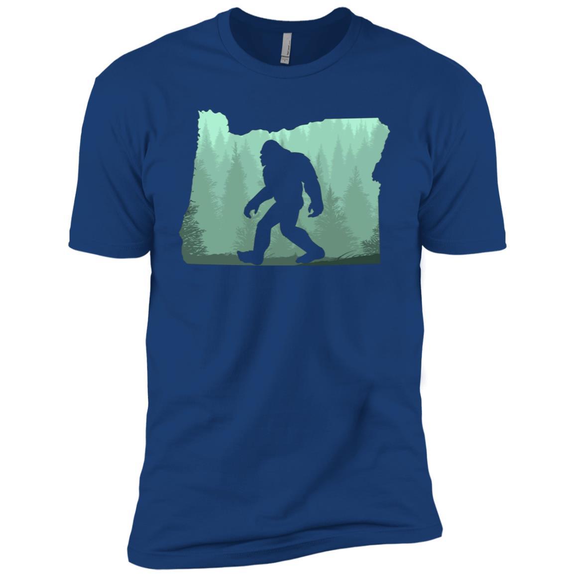 Oregon Bigfoot Born In Oregon Men Short Sleeve T-Shirt