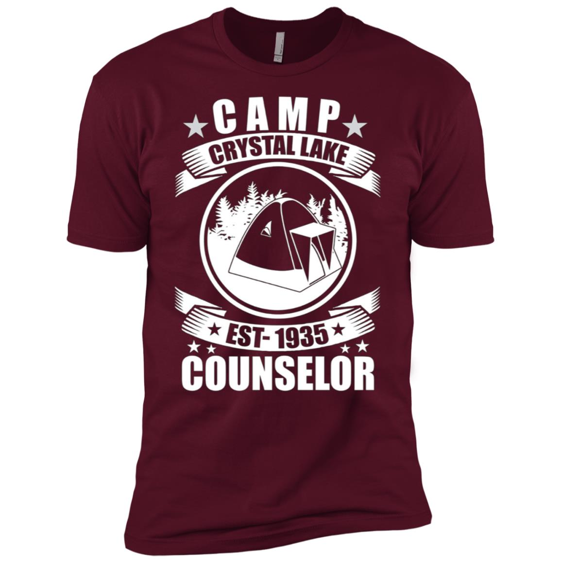 Crystal Lake Counselor Men Short Sleeve T-Shirt