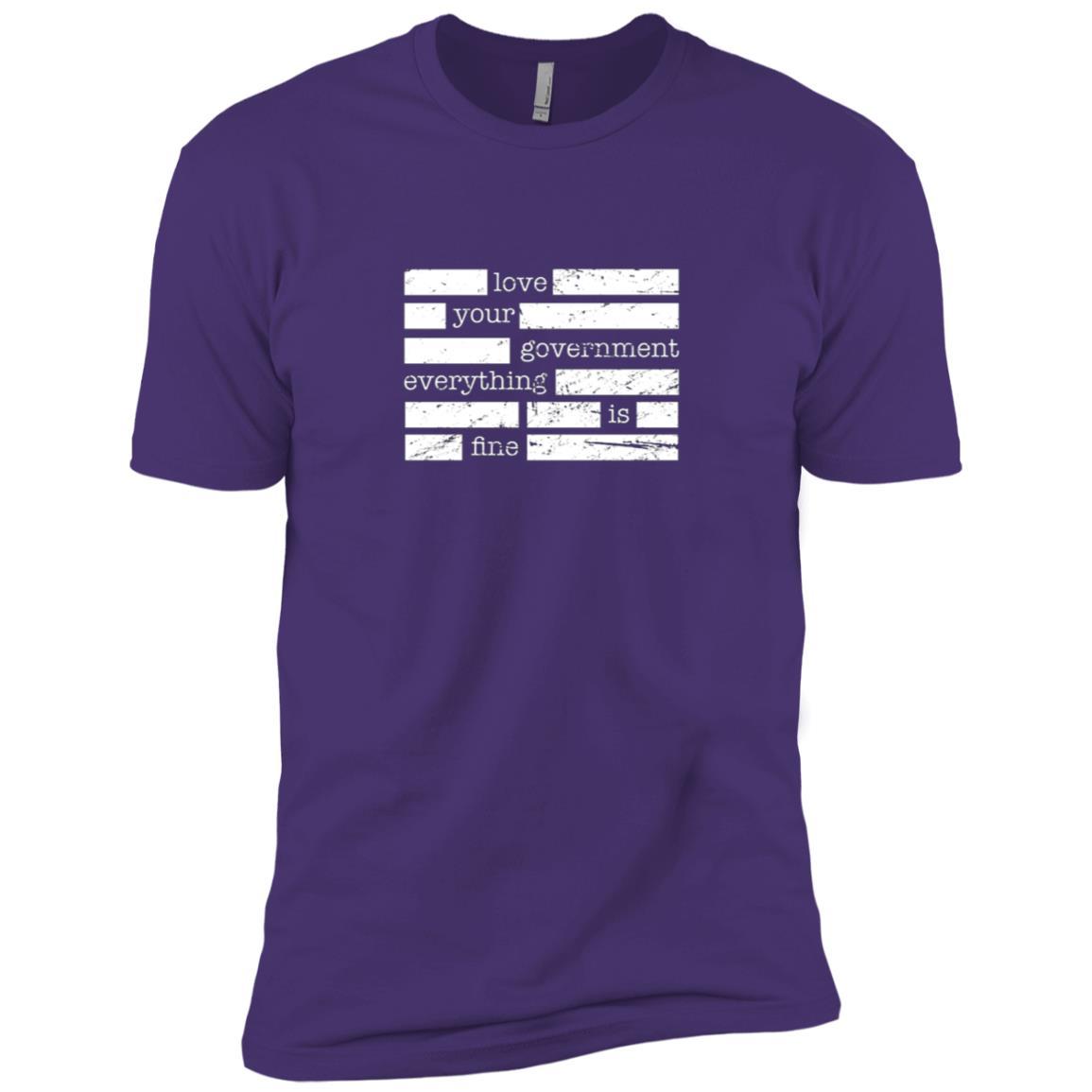 Redacted Conspiracy Theorist Men Short Sleeve T-Shirt