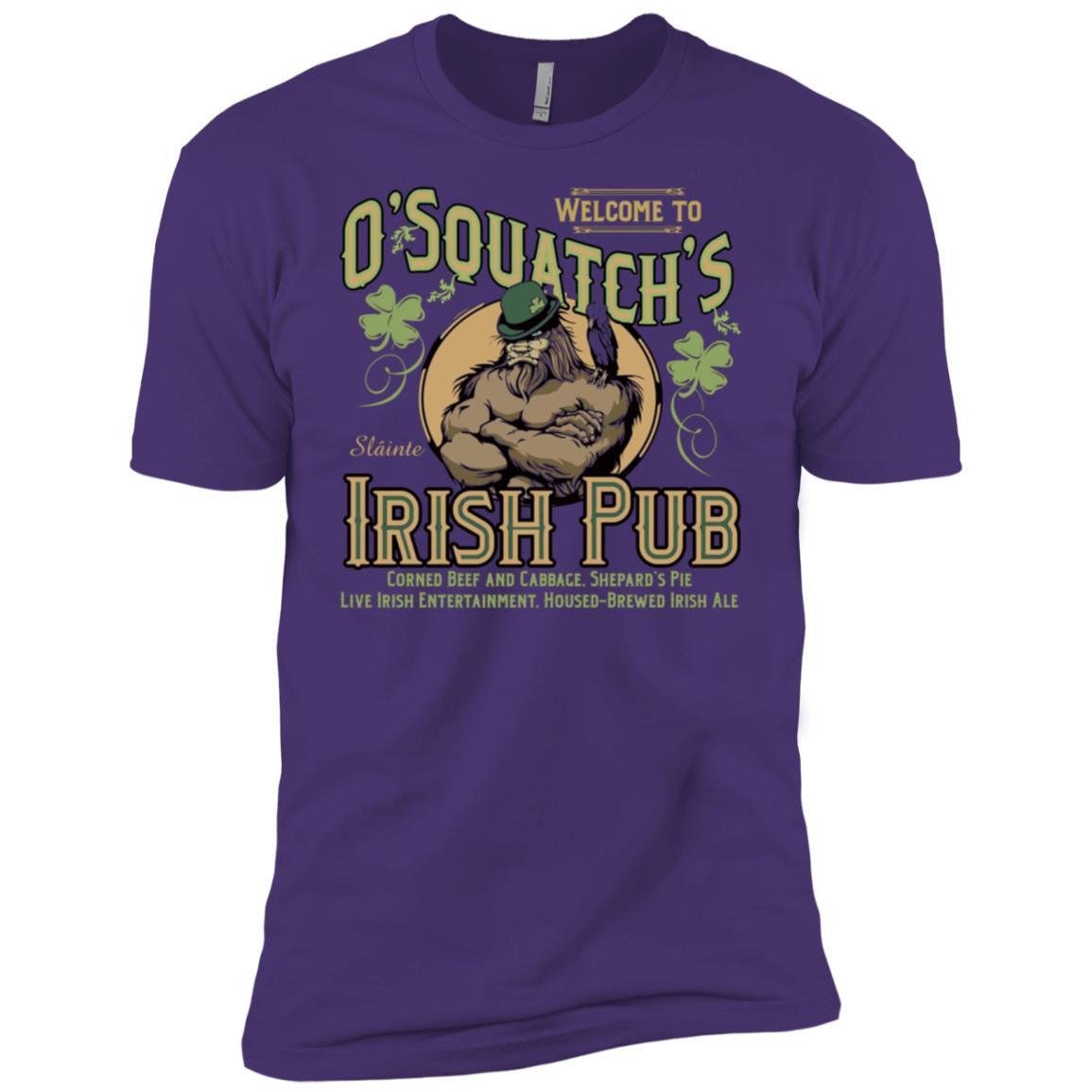O'Squatch's Irish Pub Men Short Sleeve T-Shirt
