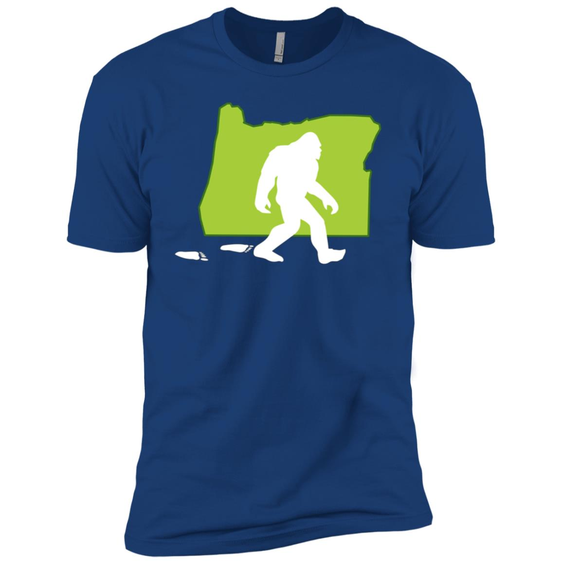 Oregon State Bigfoot Hunter Men Short Sleeve T-Shirt