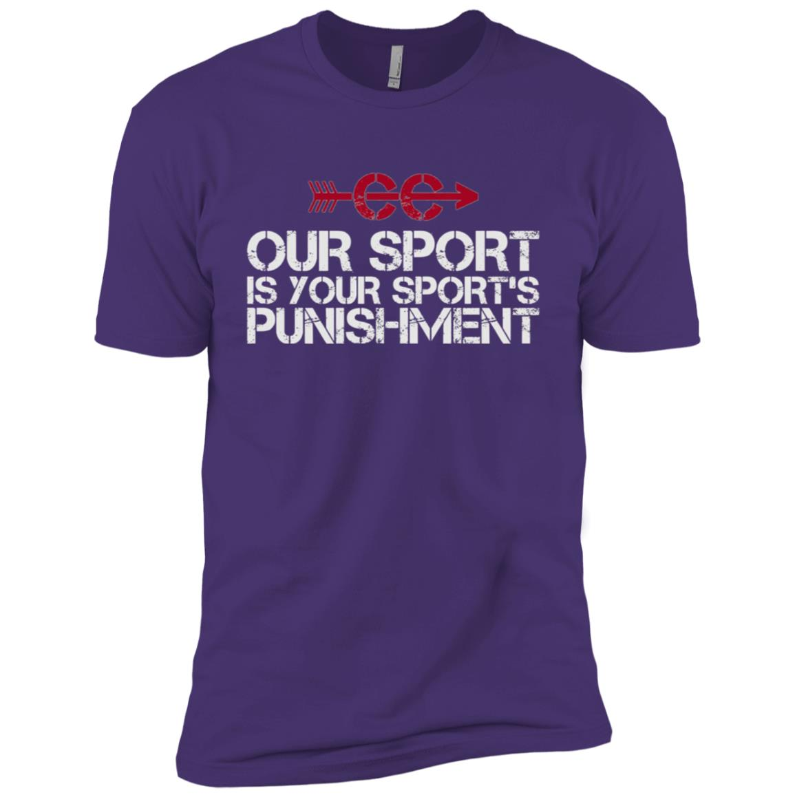 Cross Country Our Sport is your Sport's Punishment XC Run Men Short Sleeve T-Shirt