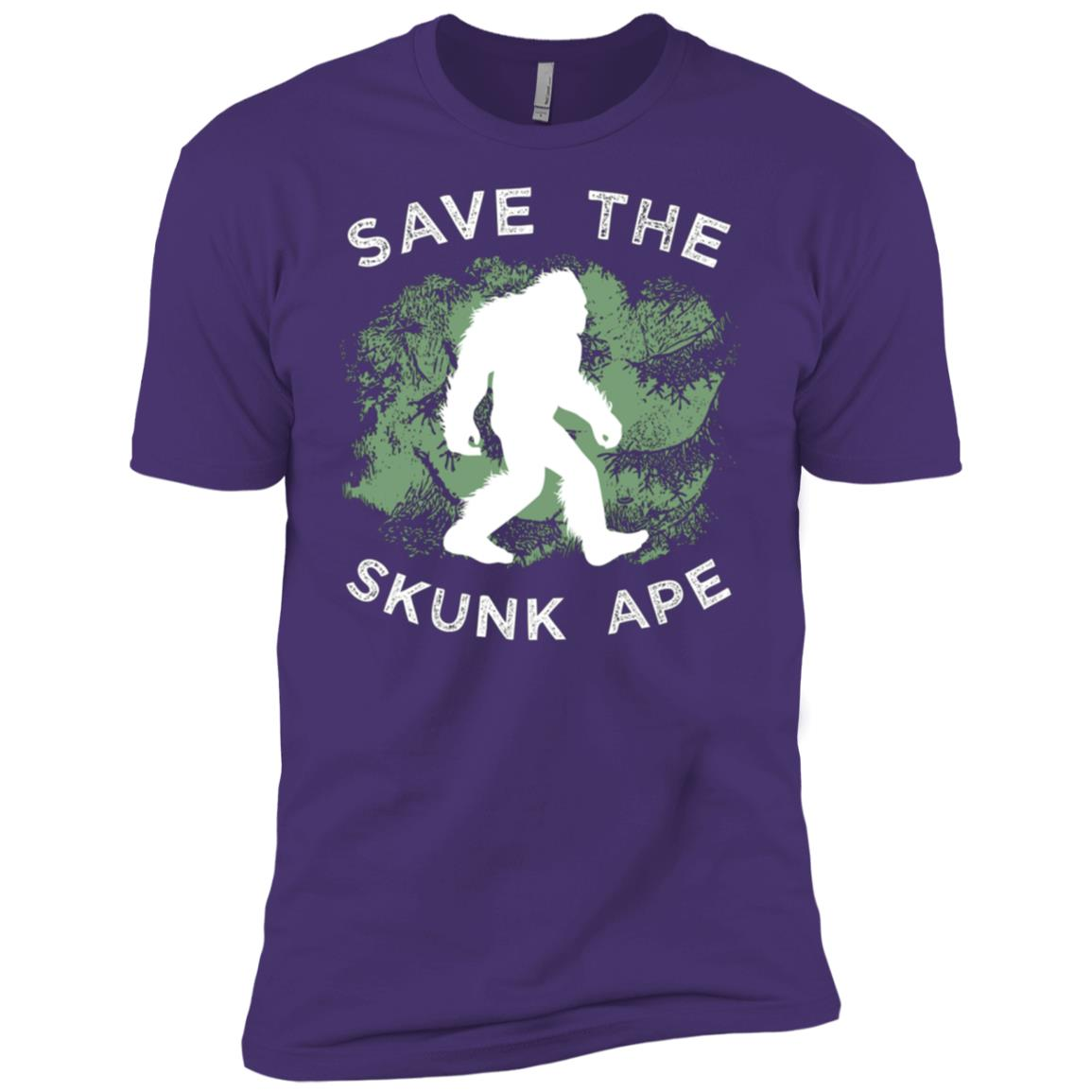 Save The Skunk Ape Bigfoot Men Short Sleeve T-Shirt