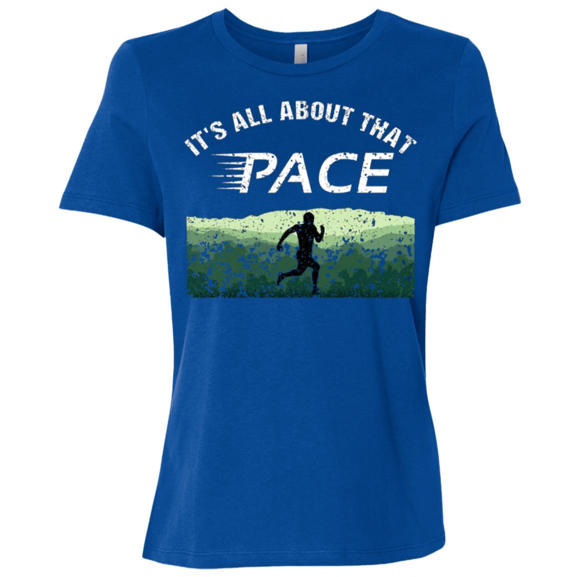 Cross Country Running Women Short Sleeve T-Shirt