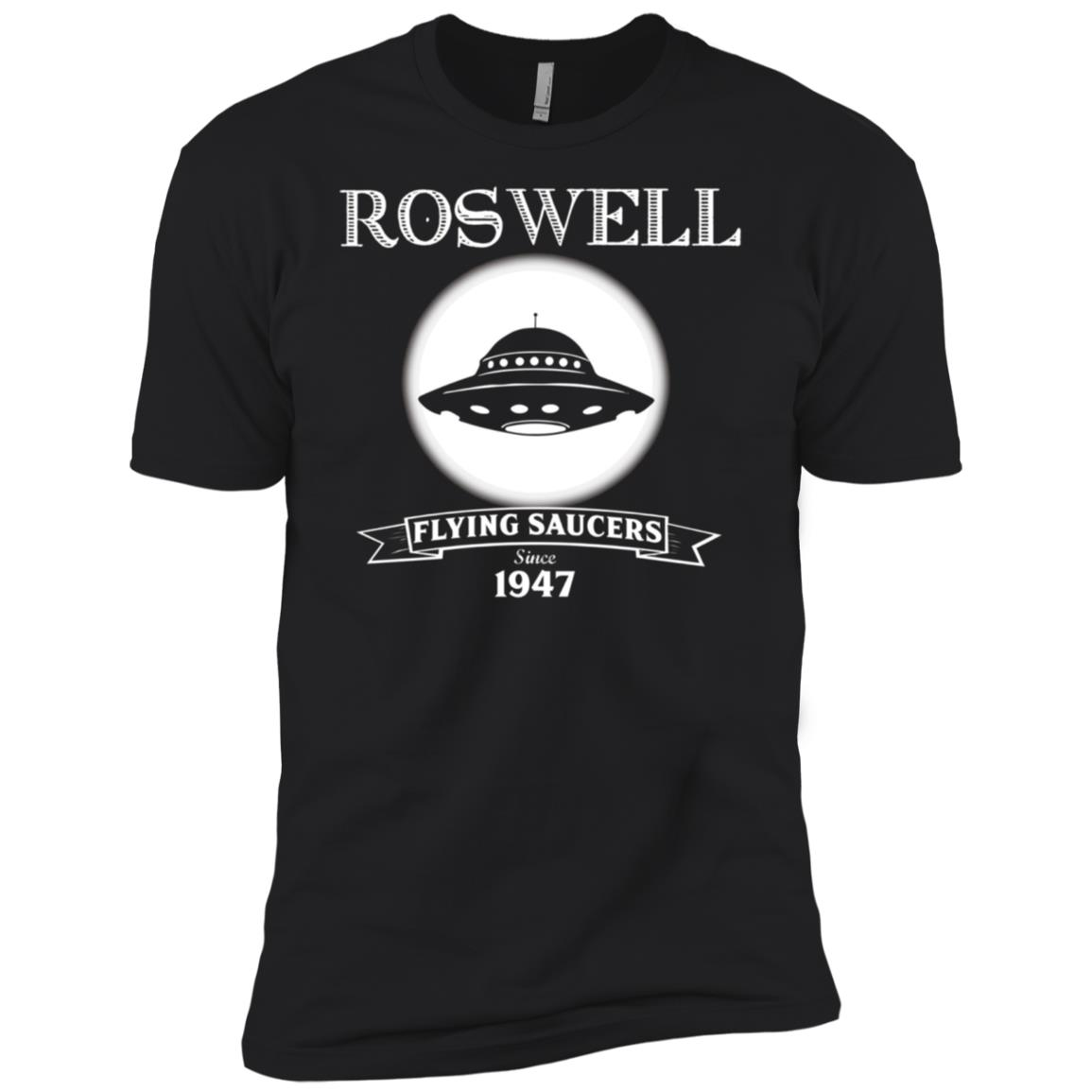Roswell UFO Flying Saucers Men Short Sleeve T-Shirt