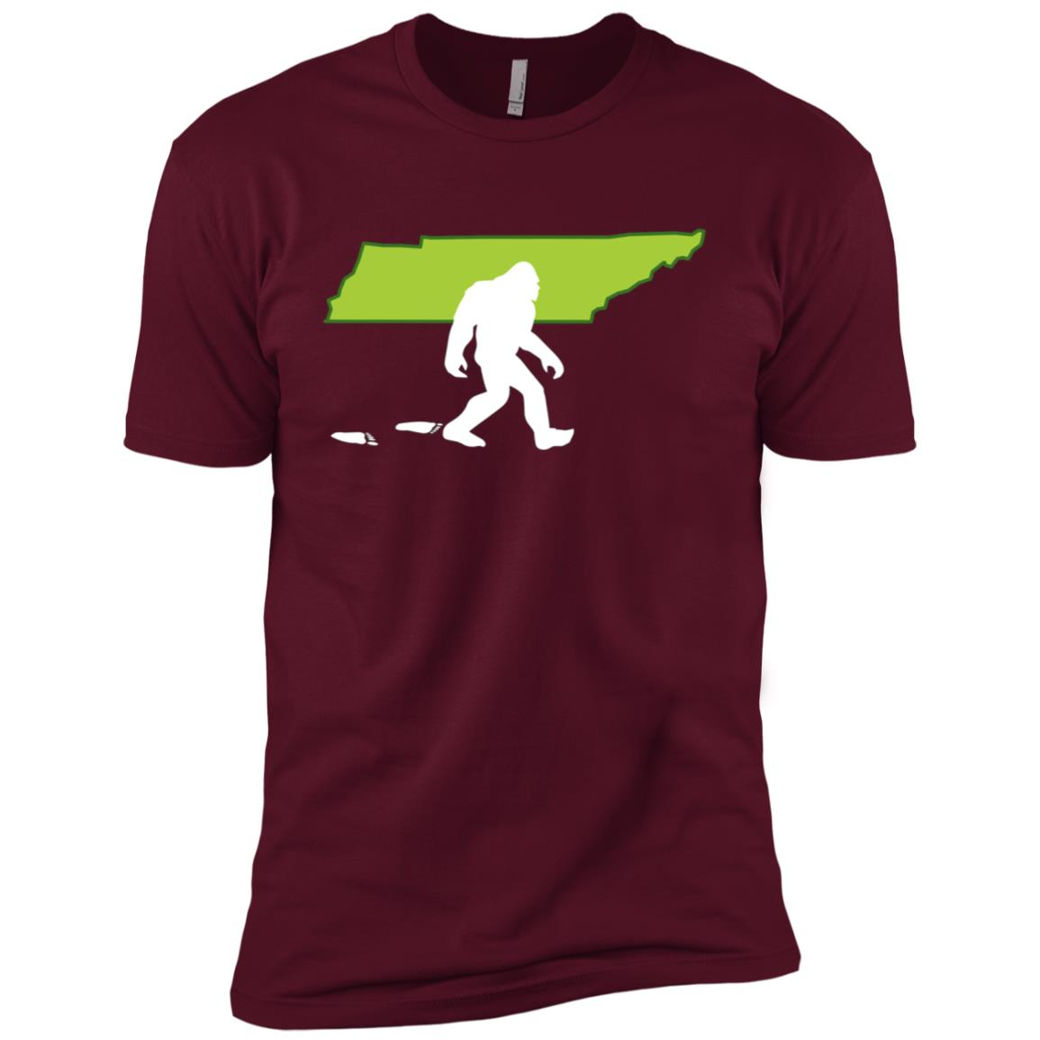 Tennessee State Bigfoot Hunter Men Short Sleeve T-Shirt