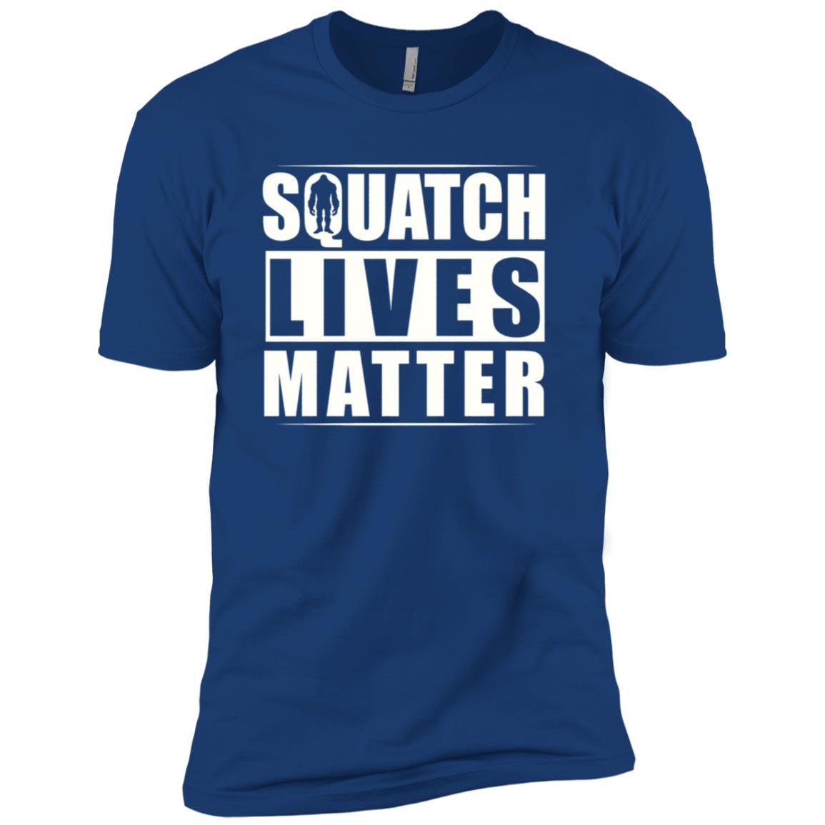 Squatch Lives Matter Men Short Sleeve T-Shirt