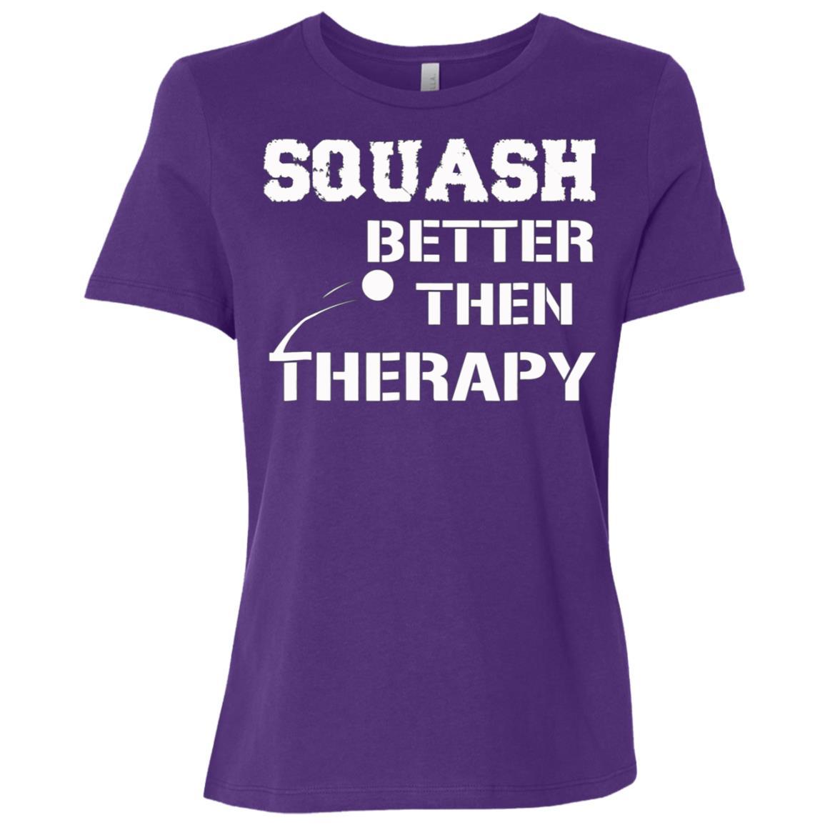 Squash – therapy s Women Short Sleeve T-Shirt
