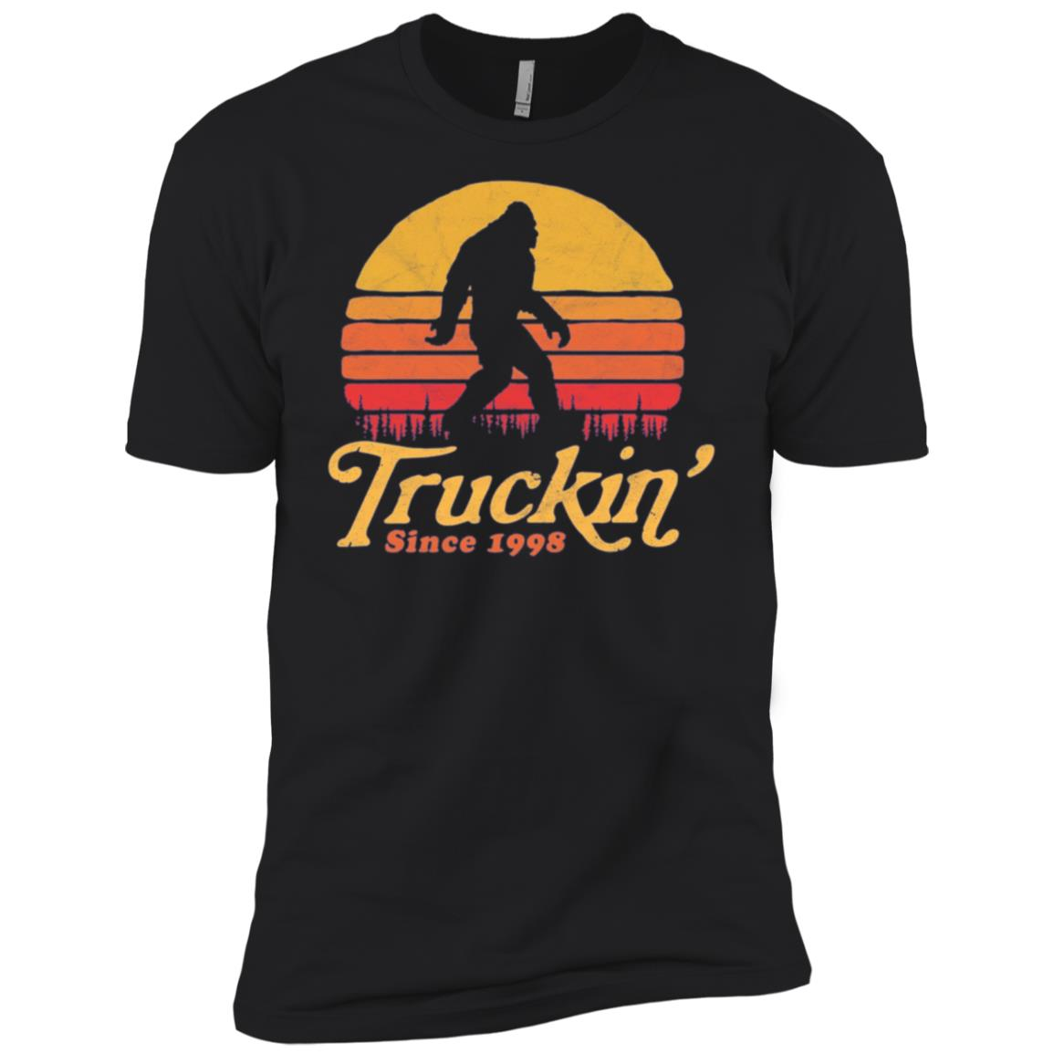 Truckin' Since 1998 Bigfoot 20th Birthday Men Short Sleeve T-Shirt