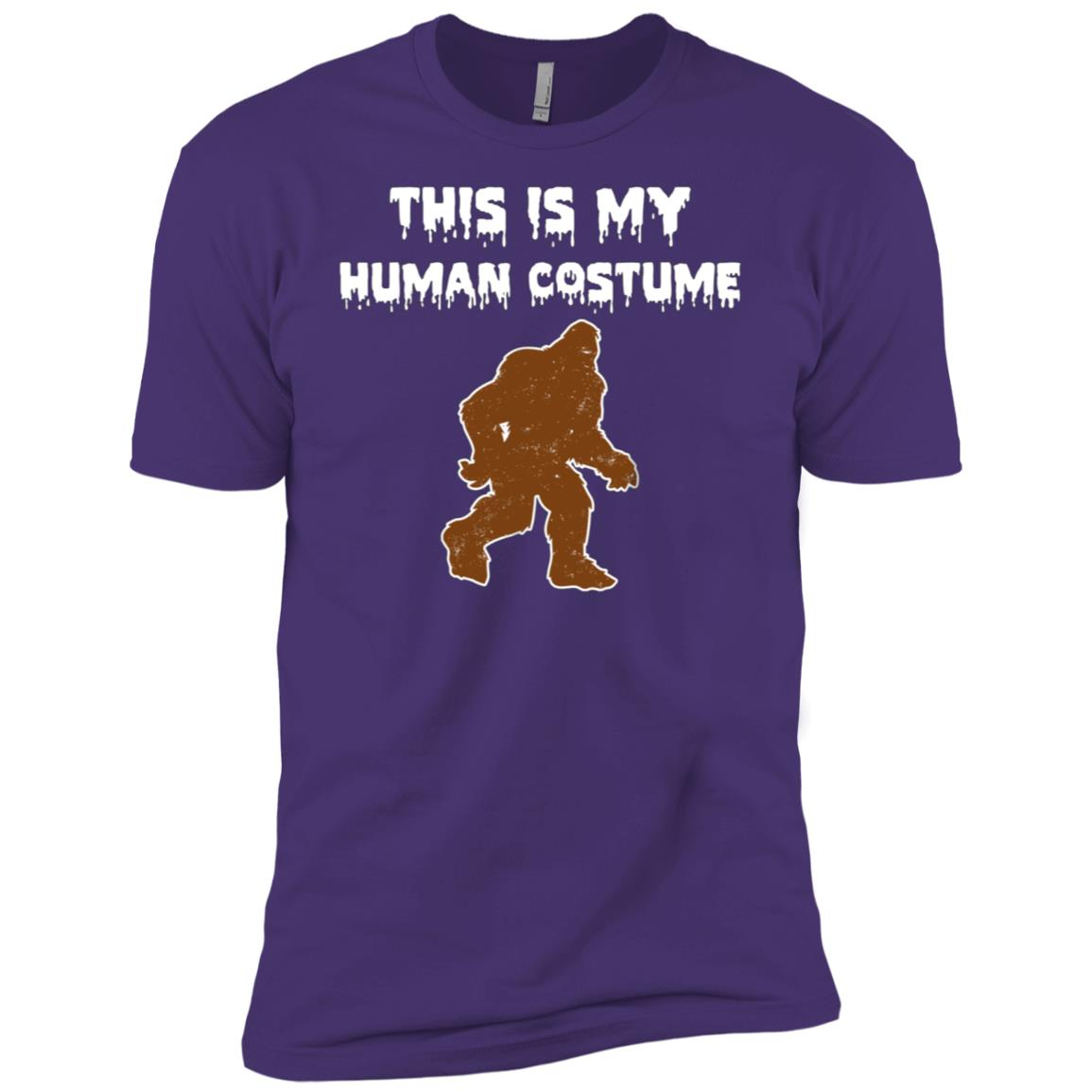 This Is My Human Costume I'm Really a Bigfoot Men Short Sleeve T-Shirt