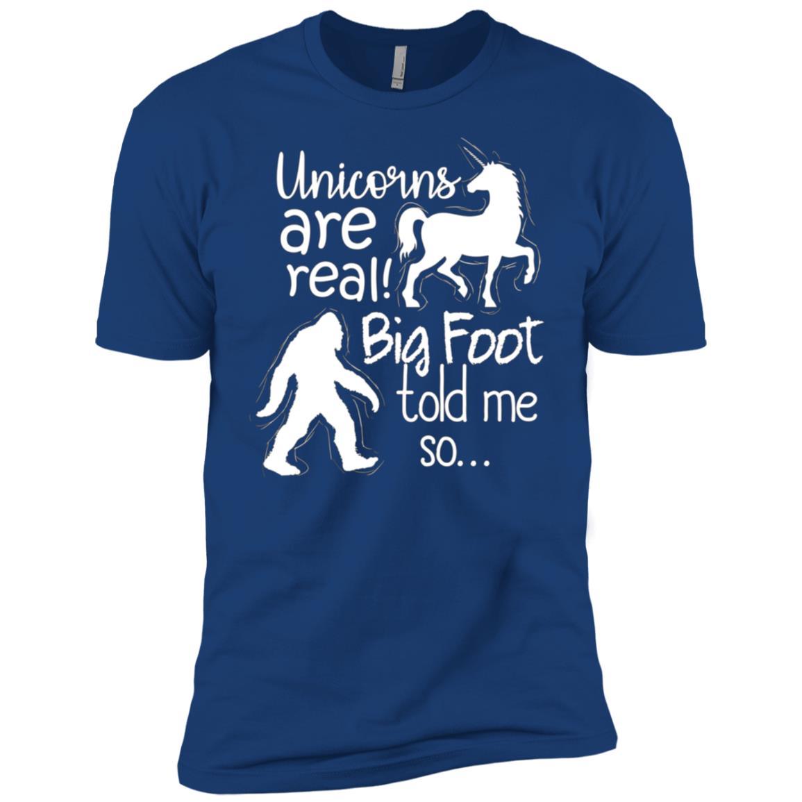 They are Real Bigfoot Unicorn Men Short Sleeve T-Shirt