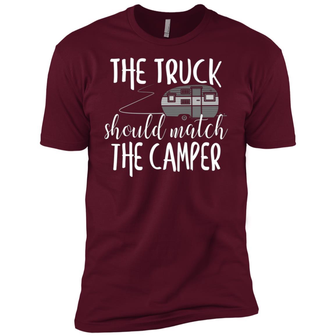 The Truck Should Match The Camper -1 Men Short Sleeve T-Shirt