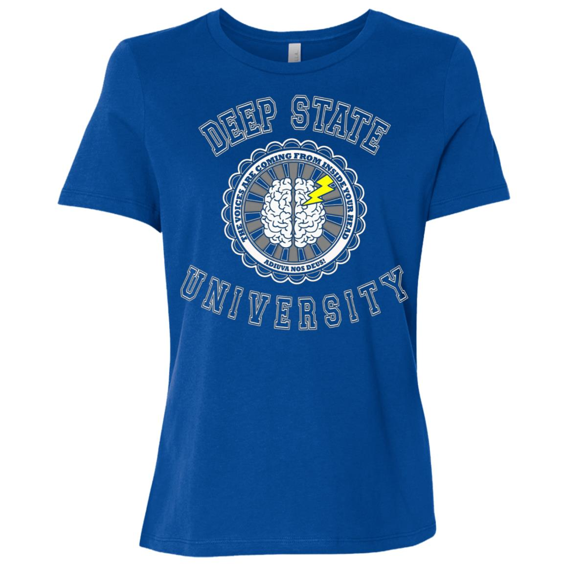 Deep State University Political Resistance Winter Women Short Sleeve T-Shirt