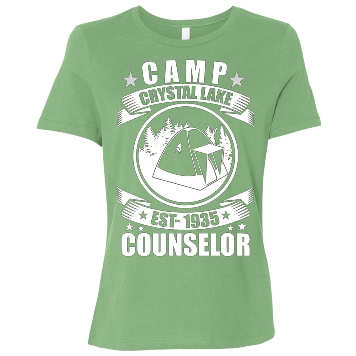 Crystal Lake Counselor Women Short Sleeve T-Shirt