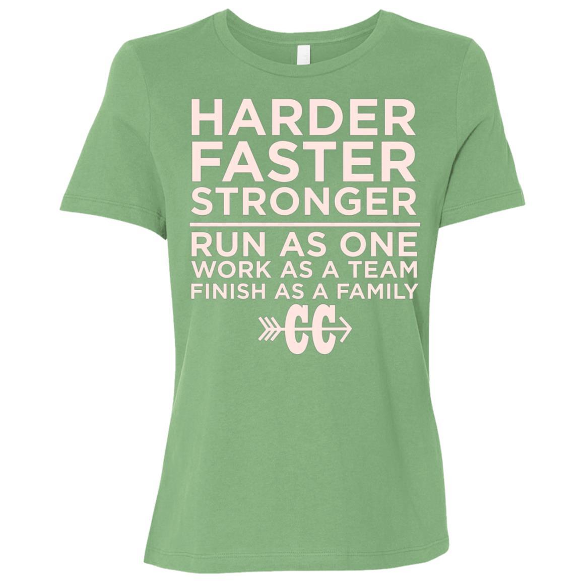 Cross Country Runnings – Run As One – Cross Country Women Short Sleeve T-Shirt