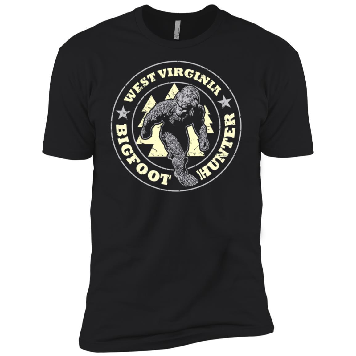 West Virginia Bigfoot Hunter Believe Men Short Sleeve T-Shirt