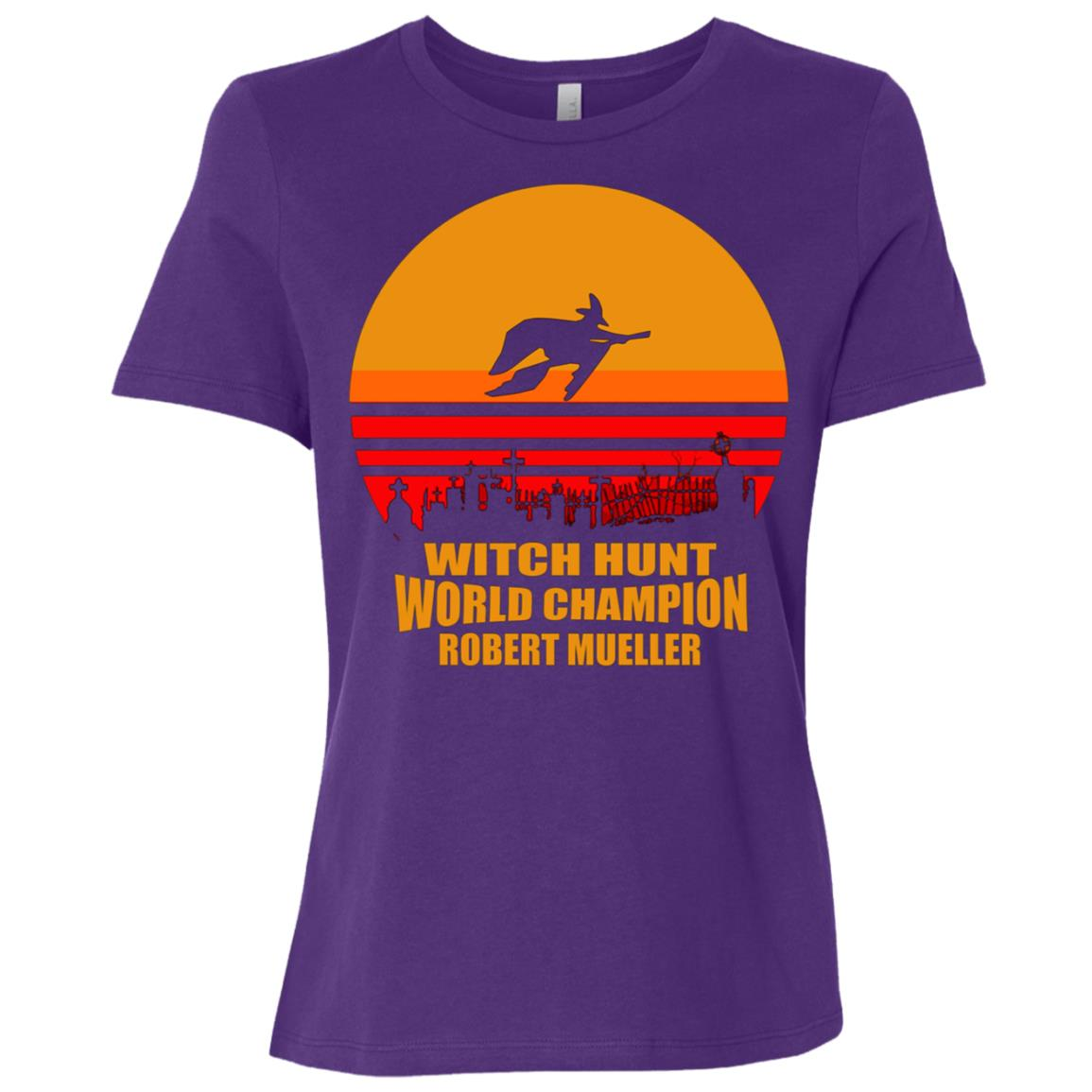 Witch Hunt World Champion Robert Mueller Women Short Sleeve T-Shirt