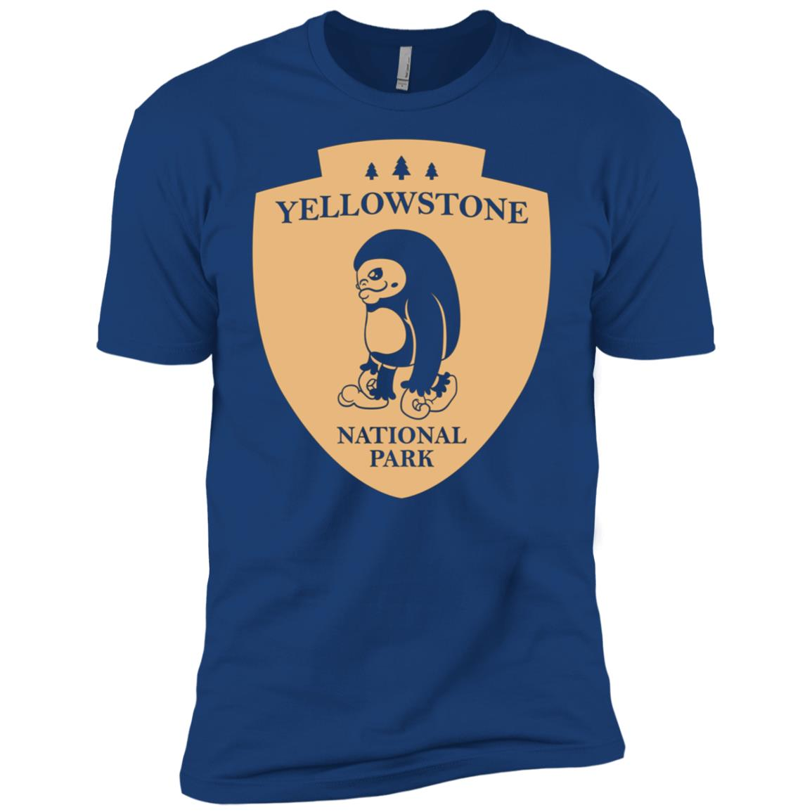 Yellowstone National Park Men Short Sleeve T-Shirt