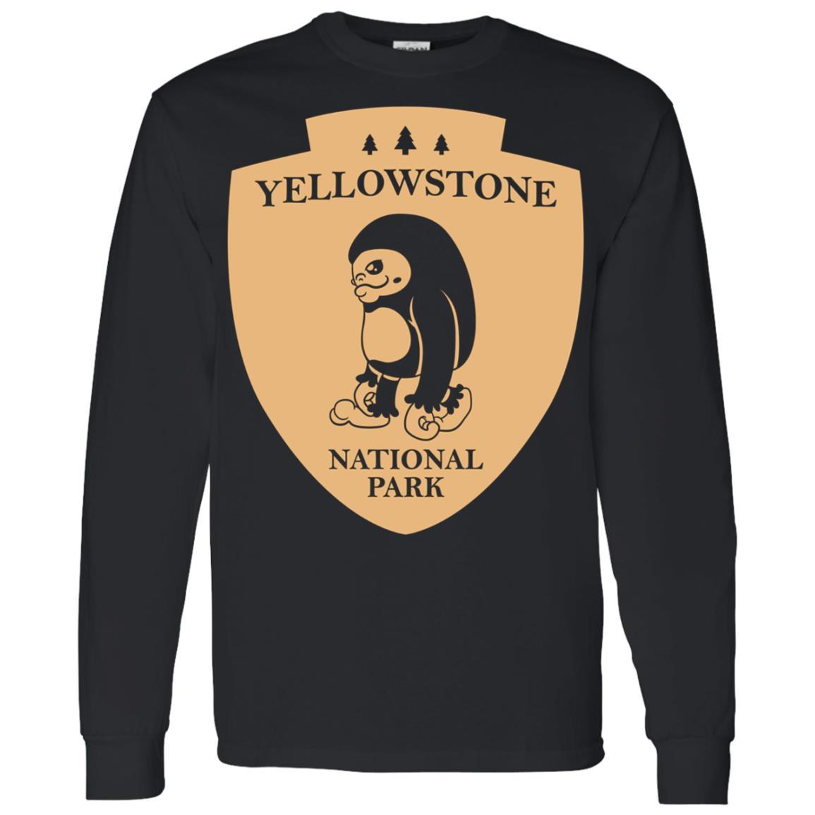 Yellowstone National Park Men Long Sleeve T-Shirt