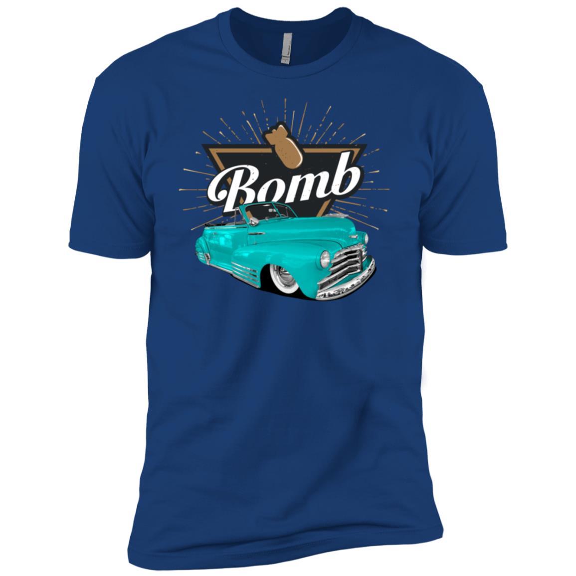 Convertible Bomb Low Rider Car for MenWomenKids Men Short Sleeve T-Shirt