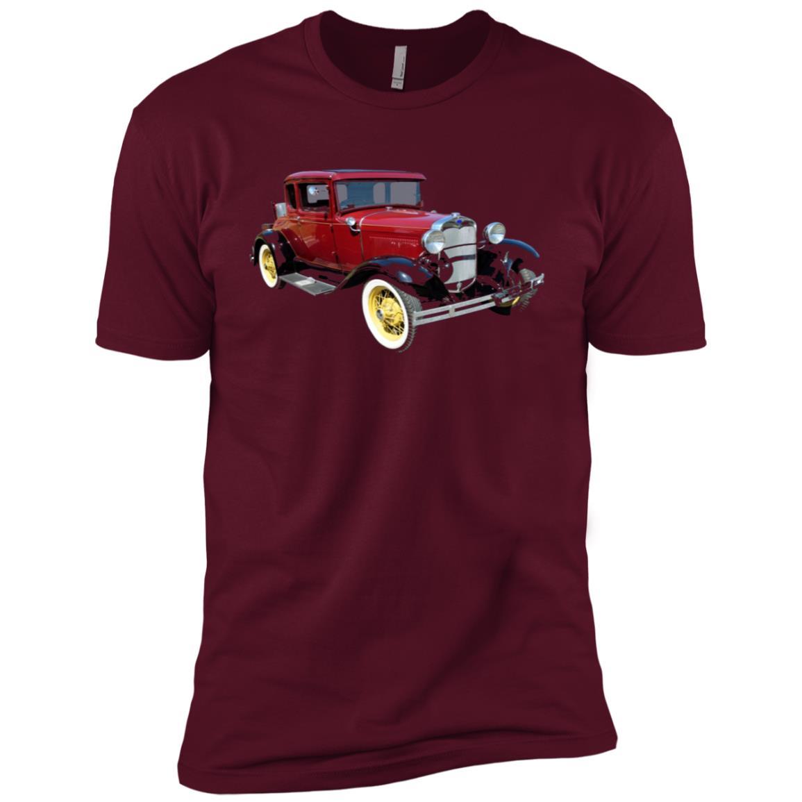 Classic Vintage Car Vehicle Men Short Sleeve T-Shirt