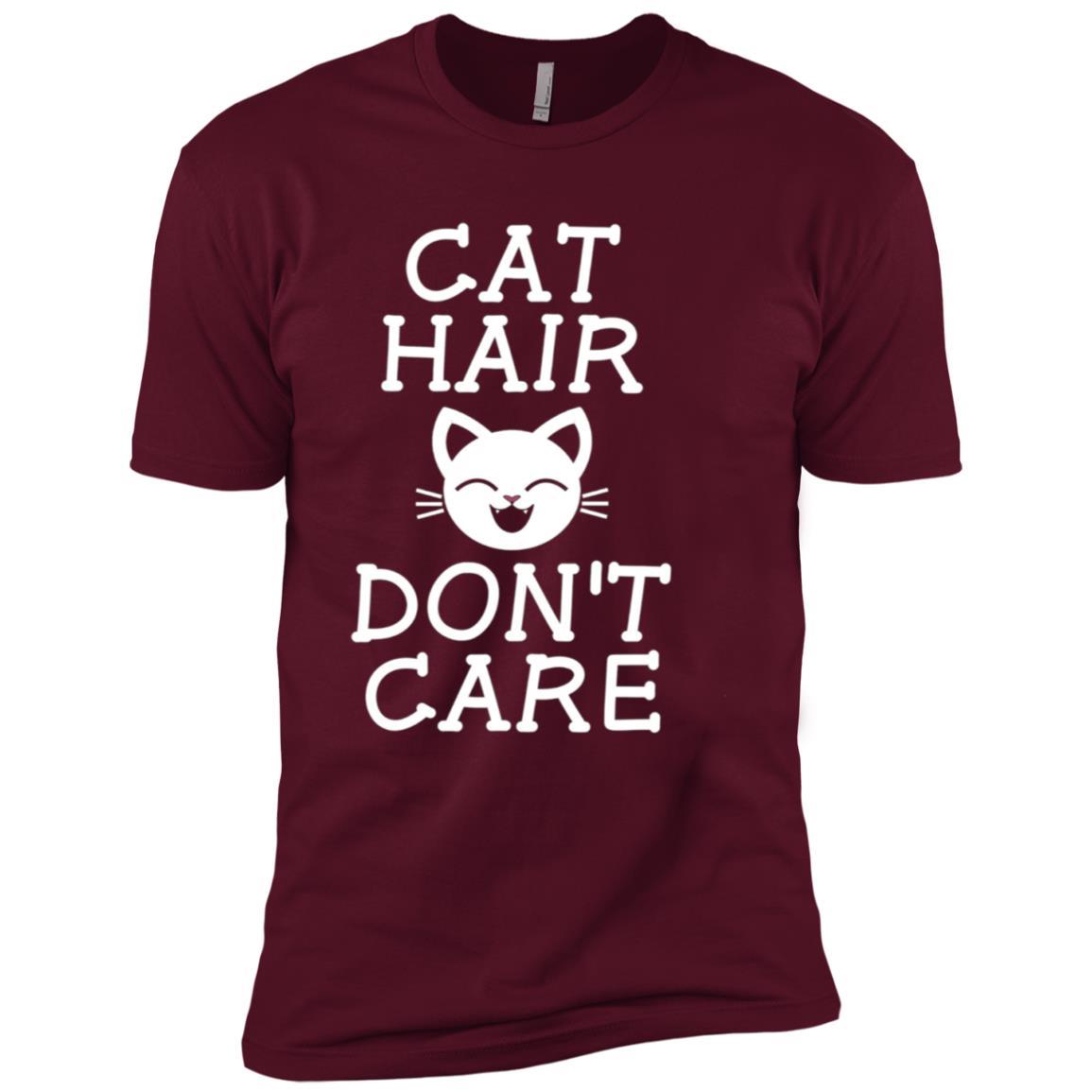 Cat Hair Don't Care Men Short Sleeve T-Shirt