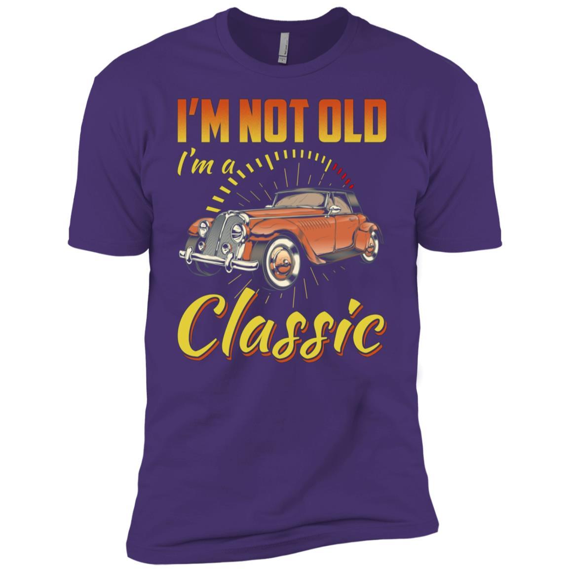 Cars I'm Not Old I'm Classic Funny Gift For Men Men Short Sleeve T-Shirt