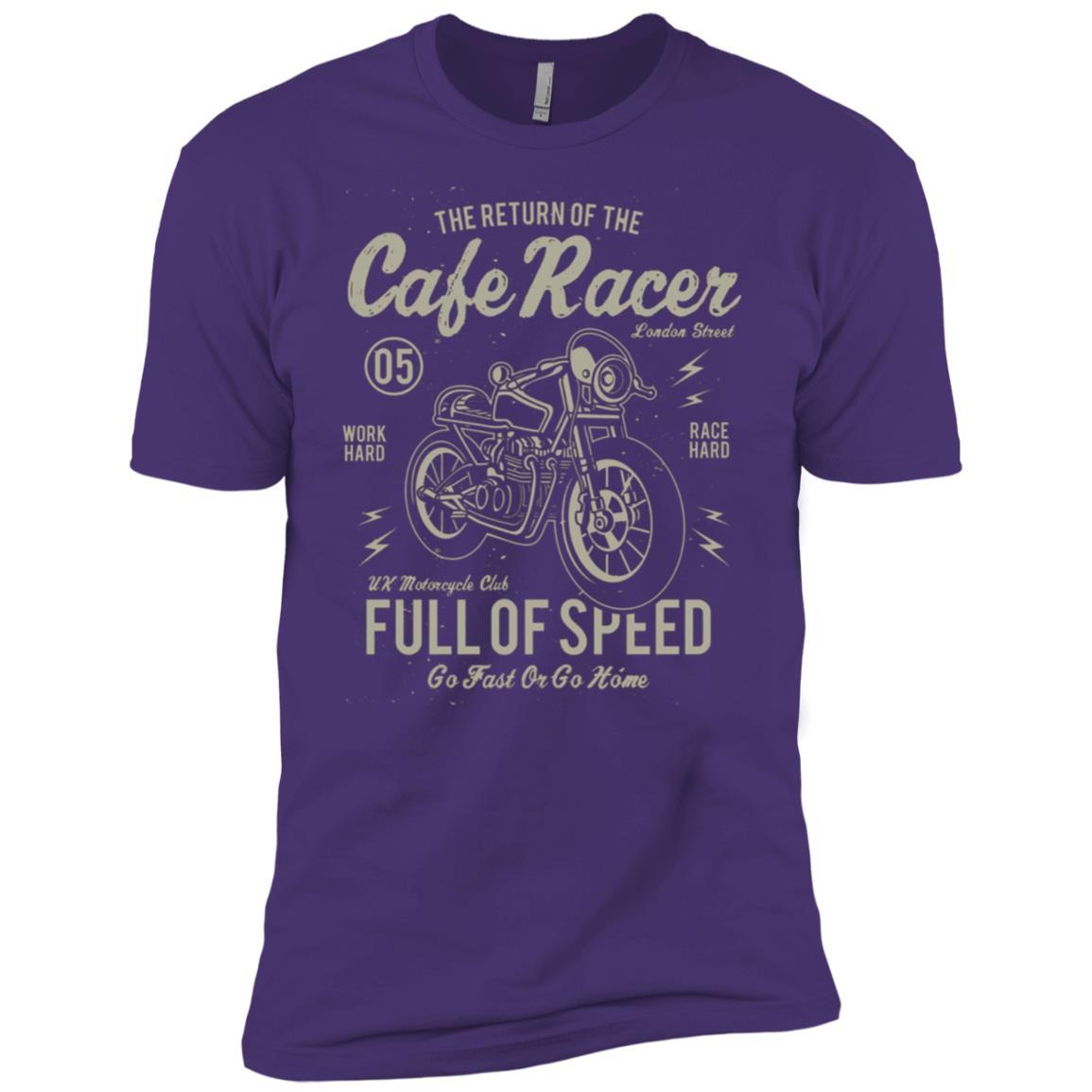 Cafe Racer Motorcycle Men Short Sleeve T-Shirt