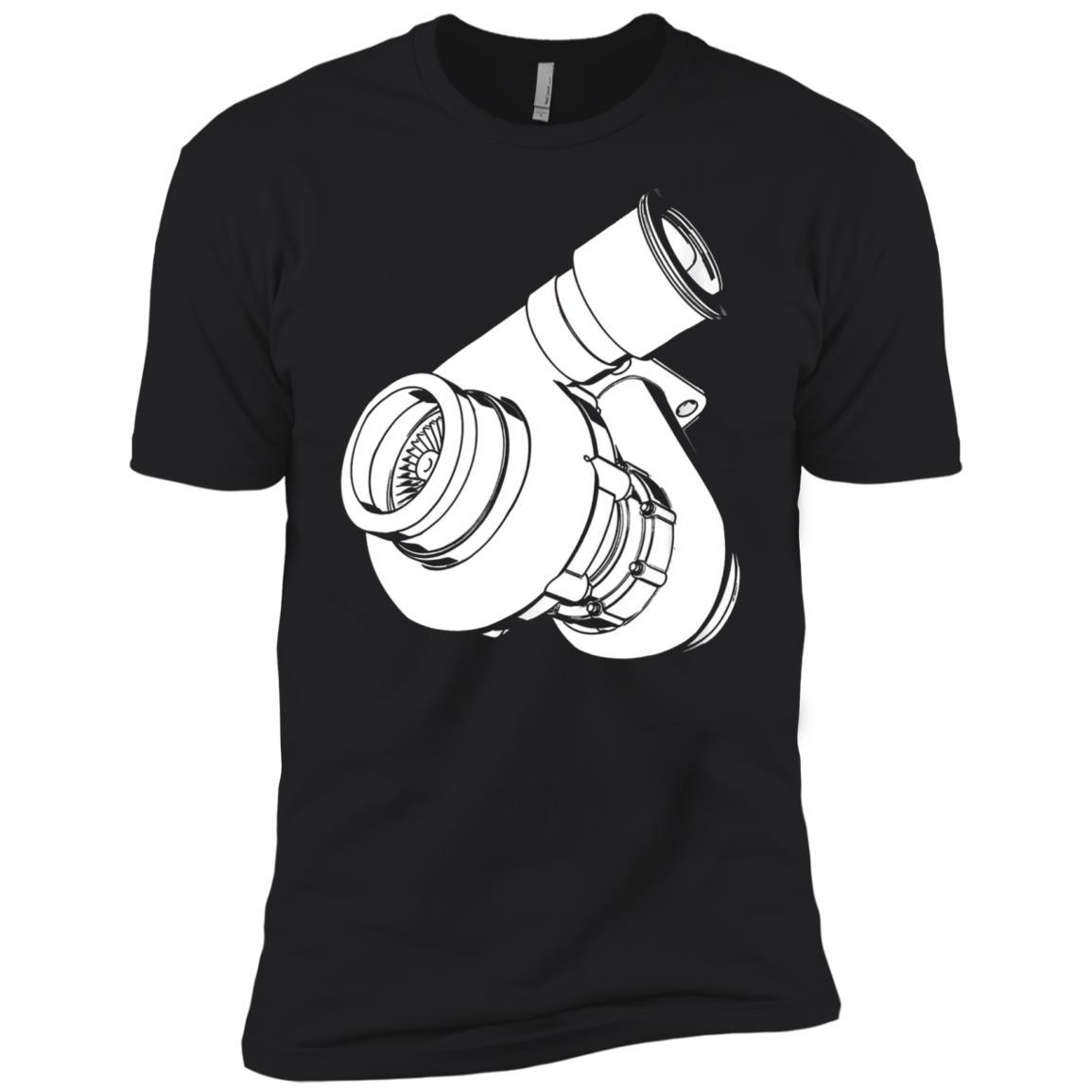 Boosted Turbocharger Diesel Truck Car Tee Men Short Sleeve T-Shirt