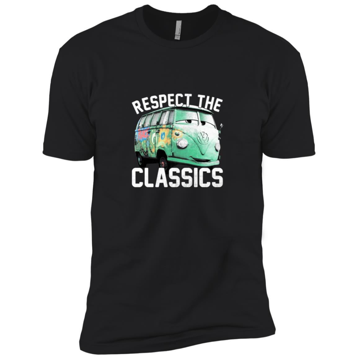Disney Pixar Cars Fillmore Respect Classics Graphic Men Short Sleeve T-Shirt
