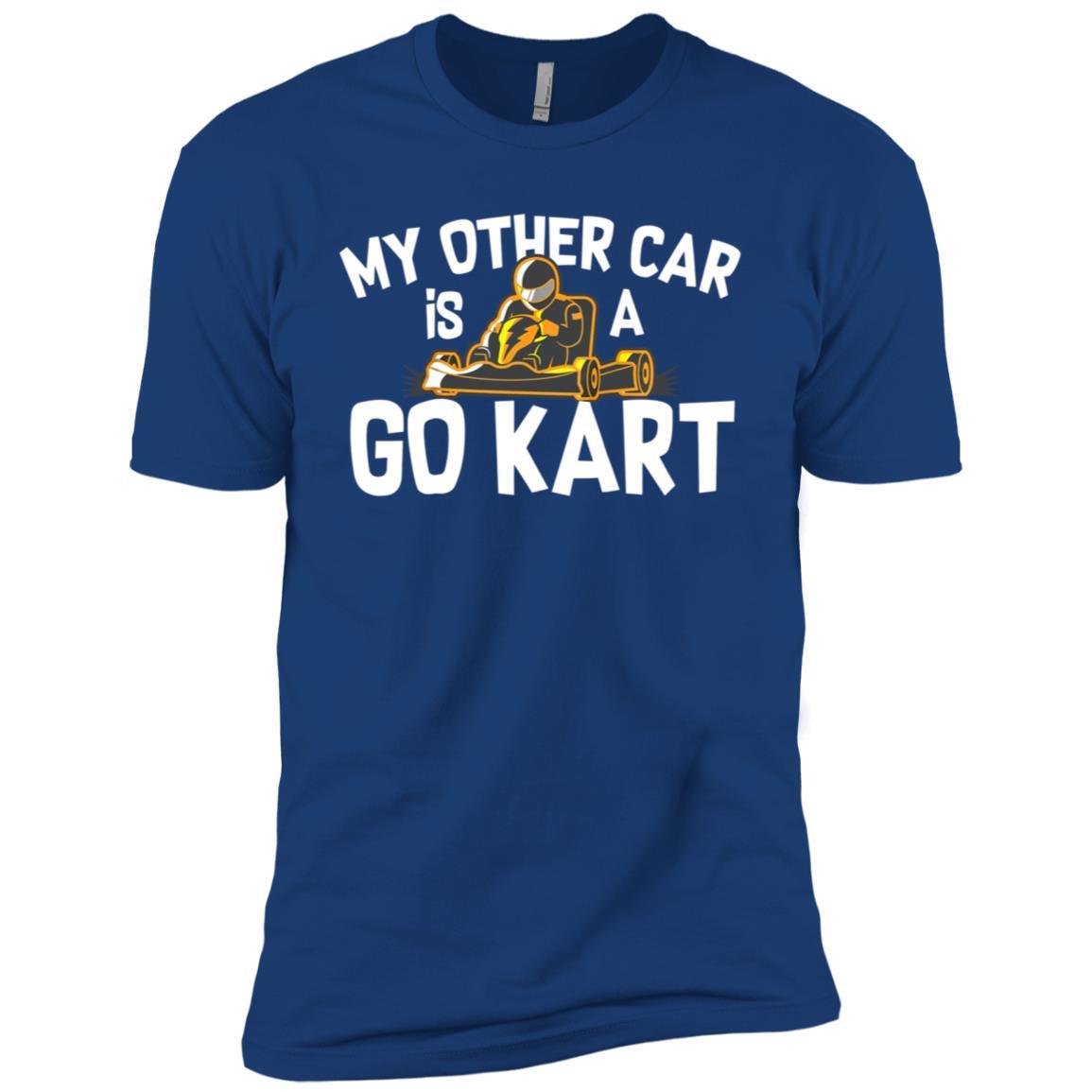 Funny Go Kart Driving for Race Track Carting Fans Men Short Sleeve T-Shirt