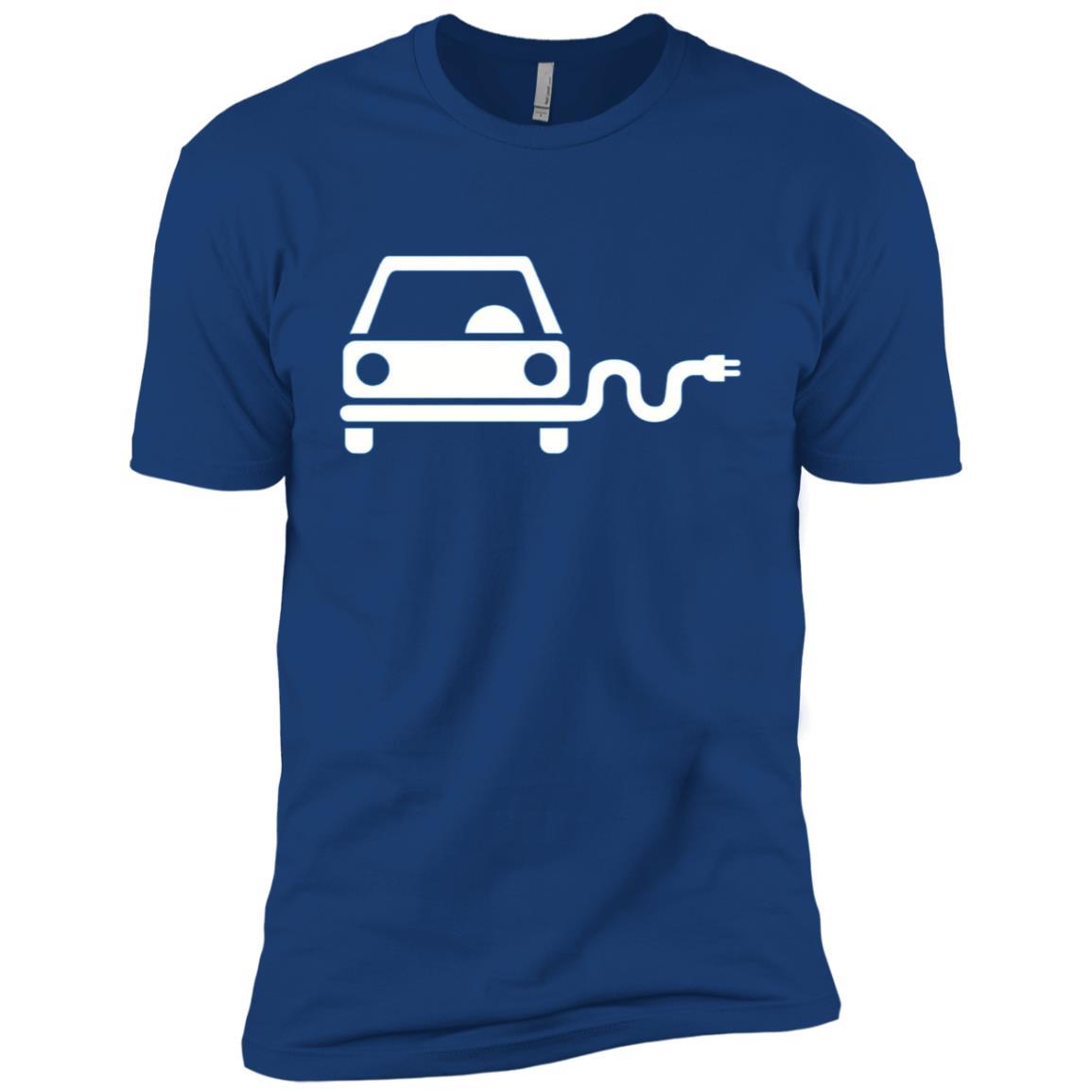 Electric car Men Short Sleeve T-Shirt