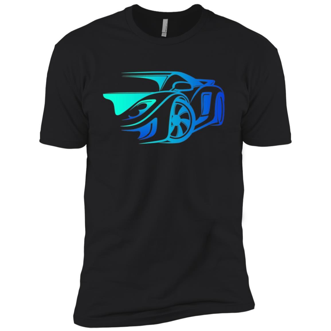 Exotic Car Supercharge Turbo Sports Car Men Short Sleeve T-Shirt