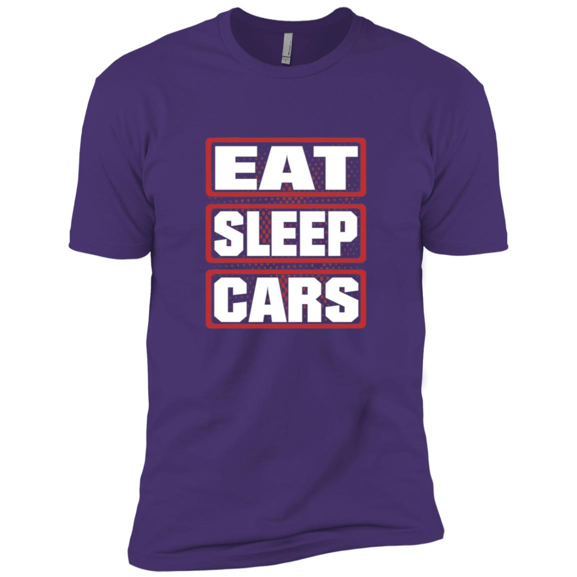 Eat Sleep Cars Men Woman Children Men Short Sleeve T-Shirt