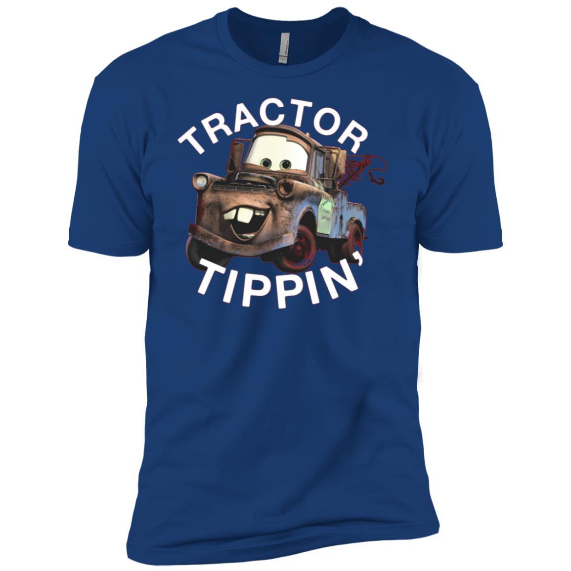 Disney Pixars Cars 3 Mater Tractor Tippin' Graphic Men Short Sleeve T-Shirt