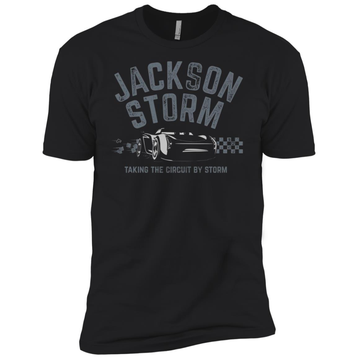 Disney Pixar Jackson Storm Taking Circuit Graphic Men Short Sleeve T-Shirt