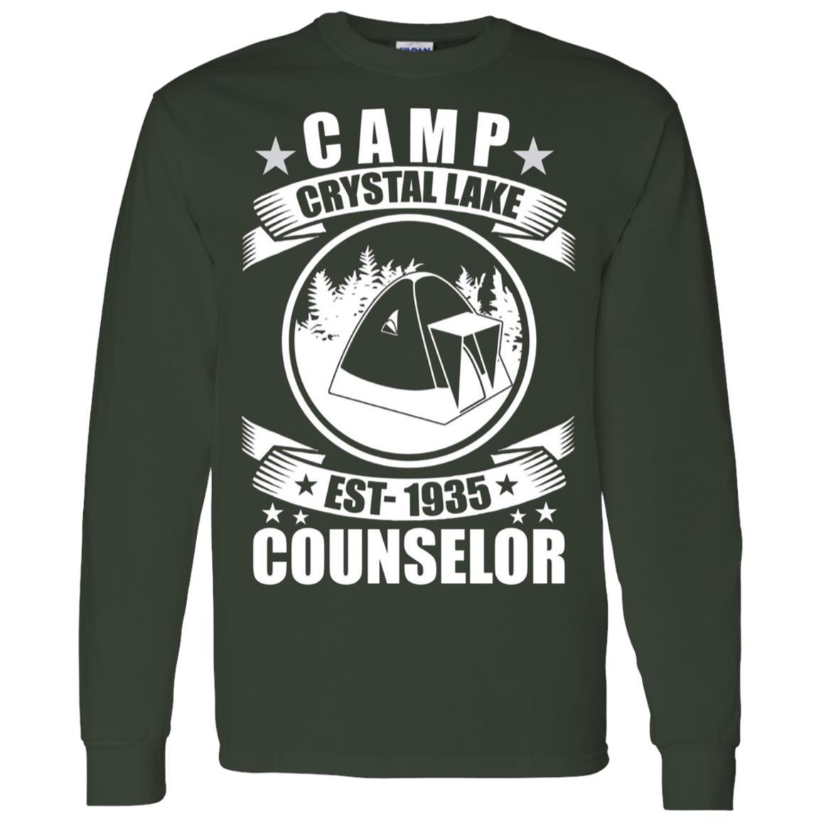 Crystal Lake Counselor Men Long Sleeve T-Shirt