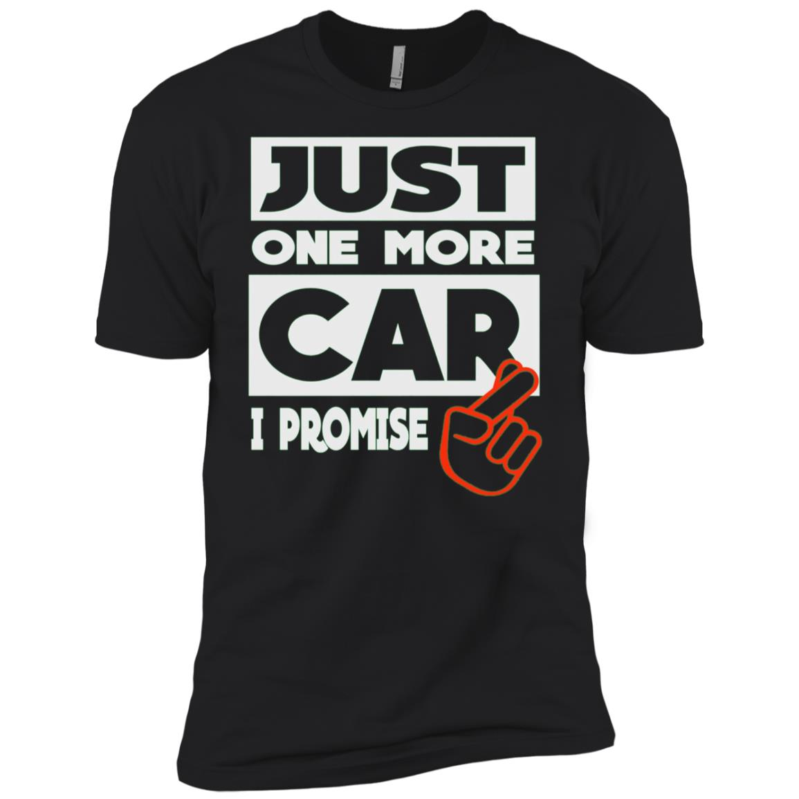 Just One More Car – I Promise Men Short Sleeve T-Shirt