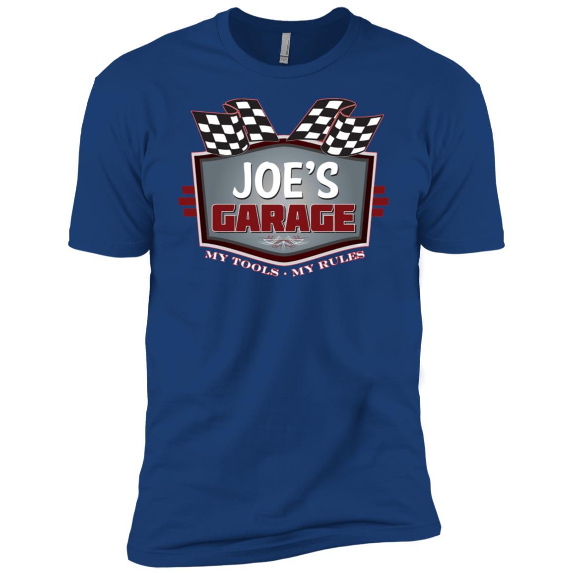 Joe's Garage Funny Car Guy – My Tools My Rules Men Short Sleeve T-Shirt