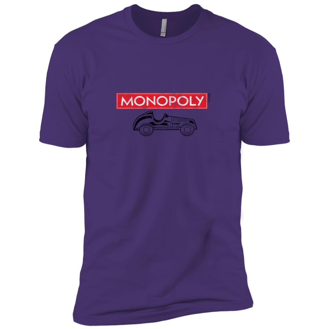 Hasbro Monopoly Car With Logo Men Short Sleeve T-Shirt