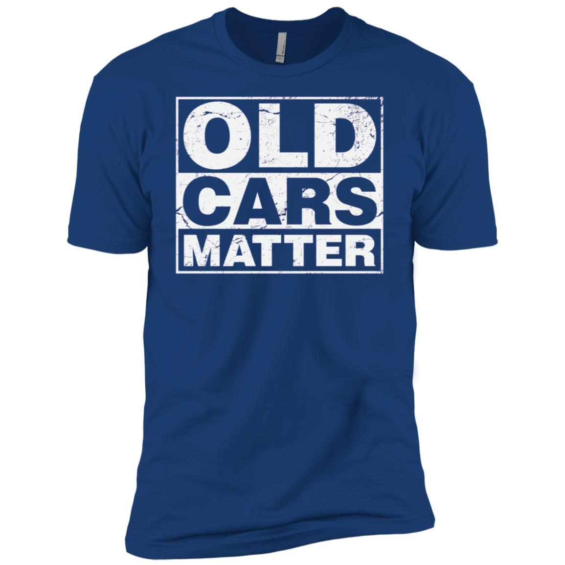 Old Cars Matter for vintage automobiles & hot rods Men Short Sleeve T-Shirt