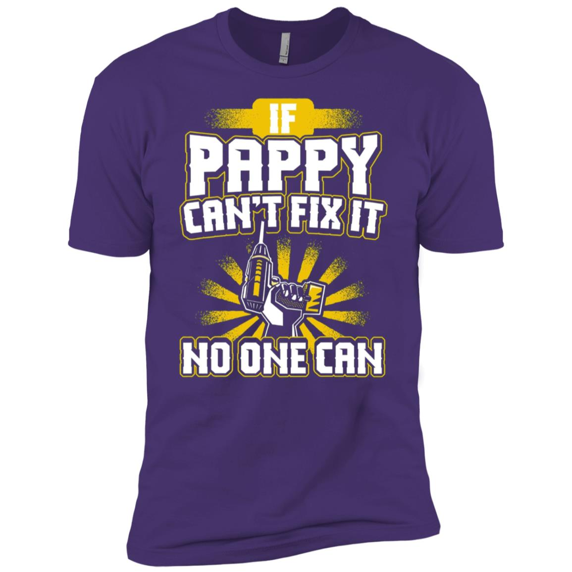 Mens Pappy – If Pappy Can't Fix It Men Short Sleeve T-Shirt