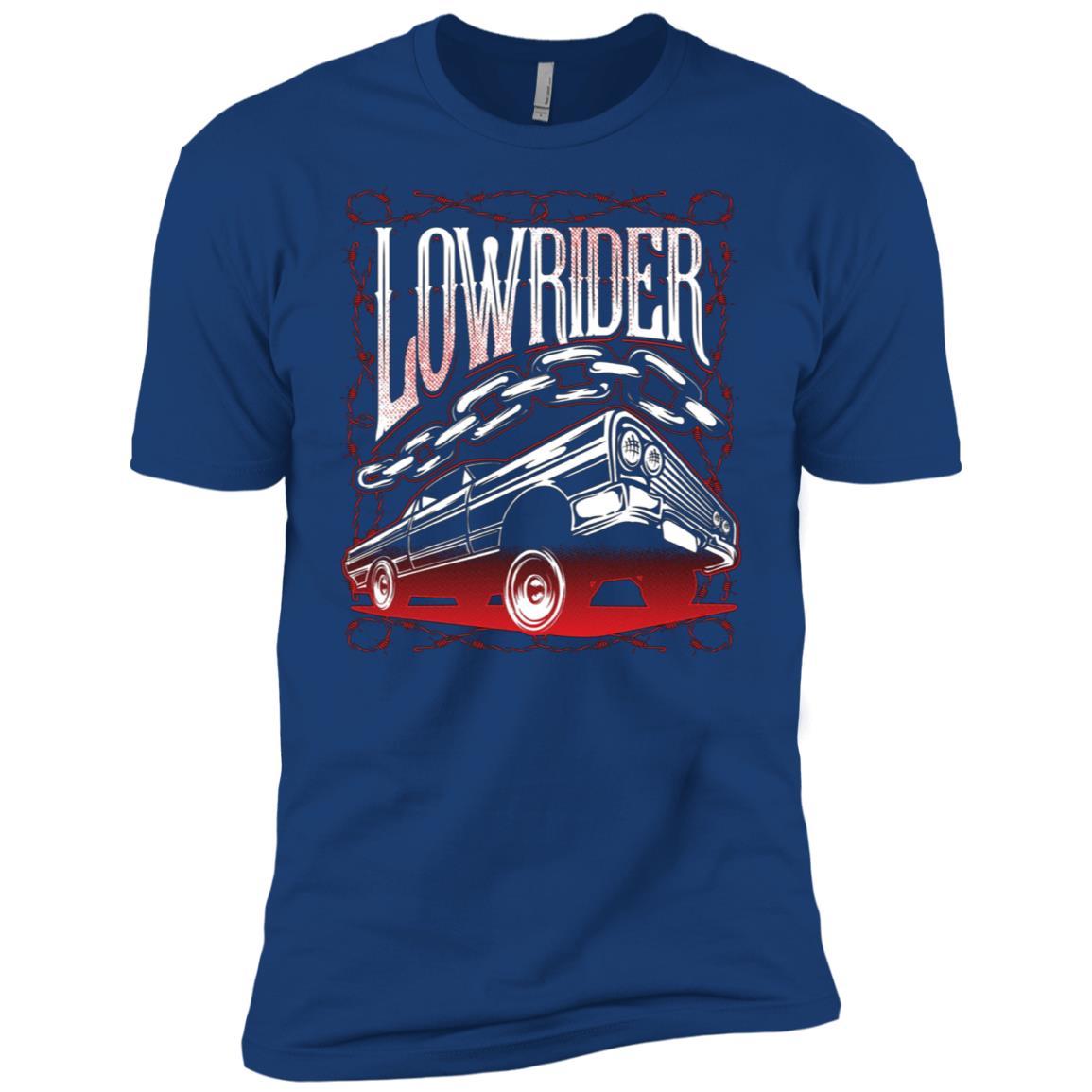Mens Low Rider Vintage Lowrider Men Short Sleeve T-Shirt