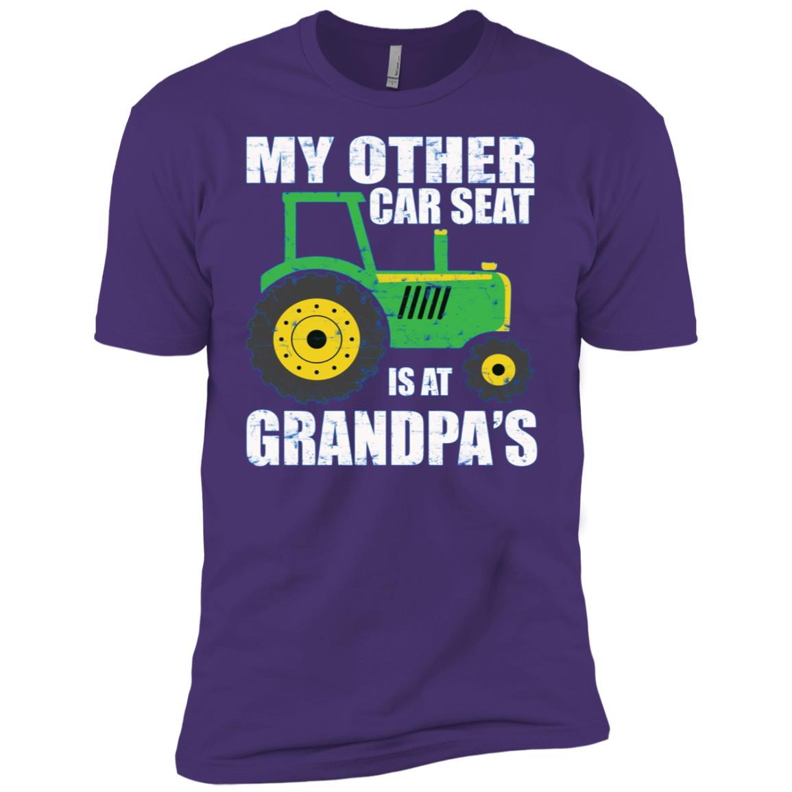Kids Toddler Tractor Toddler Farmer Clothes for Boys Men Short Sleeve T-Shirt