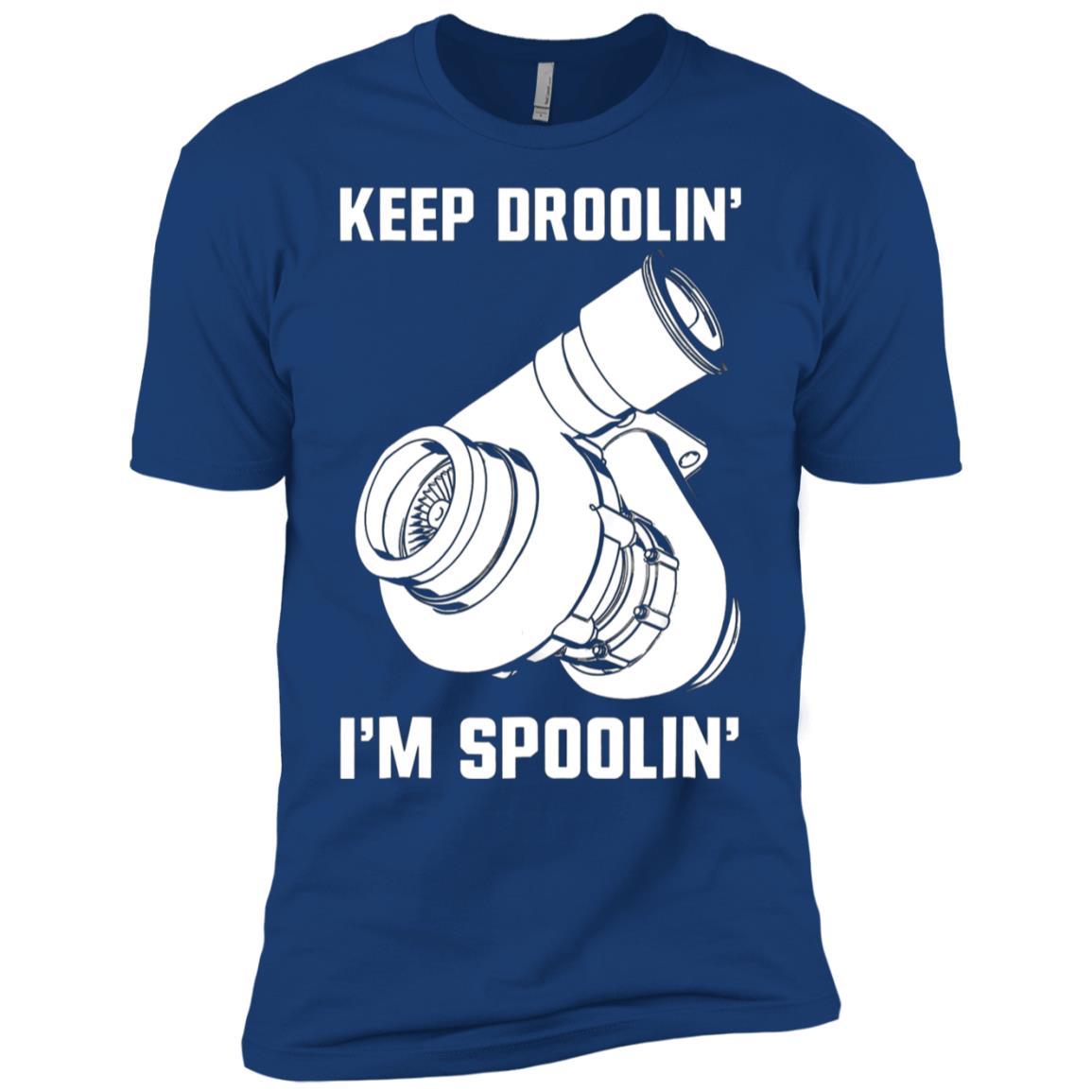 Keep Droolin' I'm Spoolin' Diesel Truck Car Men Short Sleeve T-Shirt